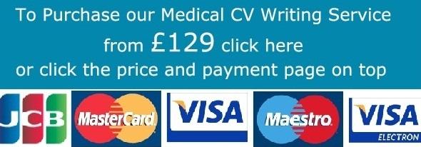 Medical CV Writing Services - Medical CV Writers - Medical C.V ...