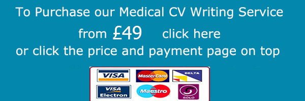 medical cv writing service